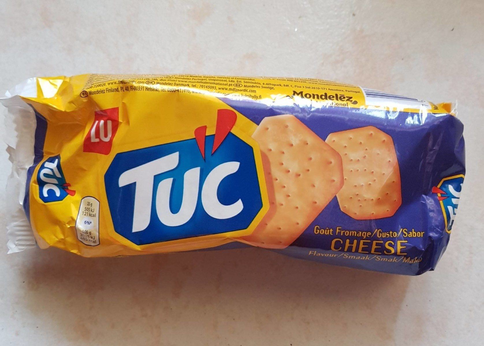 TUC goût fromage - Product - fr