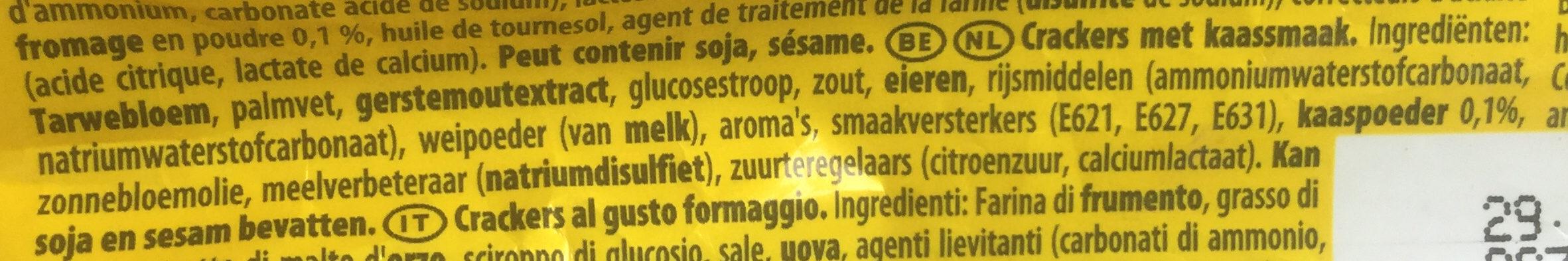 Tuc fromage - Ingrediënten - nl
