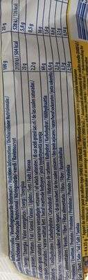 Tuc fromage - Nutrition facts - en