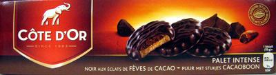Palet intense Noir aux éclats de fèves de cacao - Produit - fr