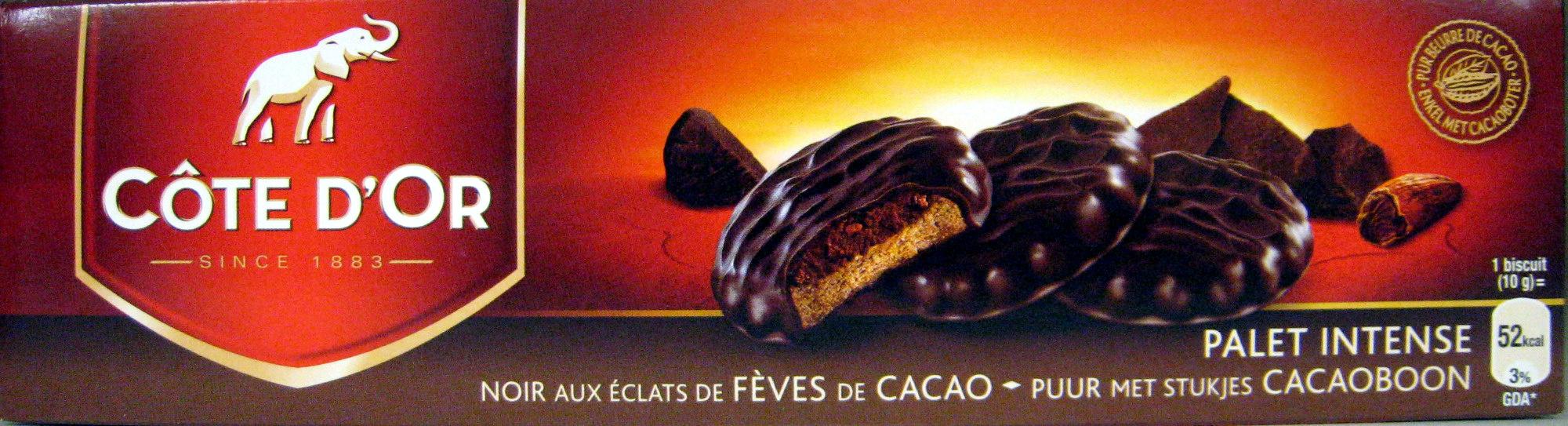 Palet intense Noir aux éclats de fèves de cacao - Product - fr