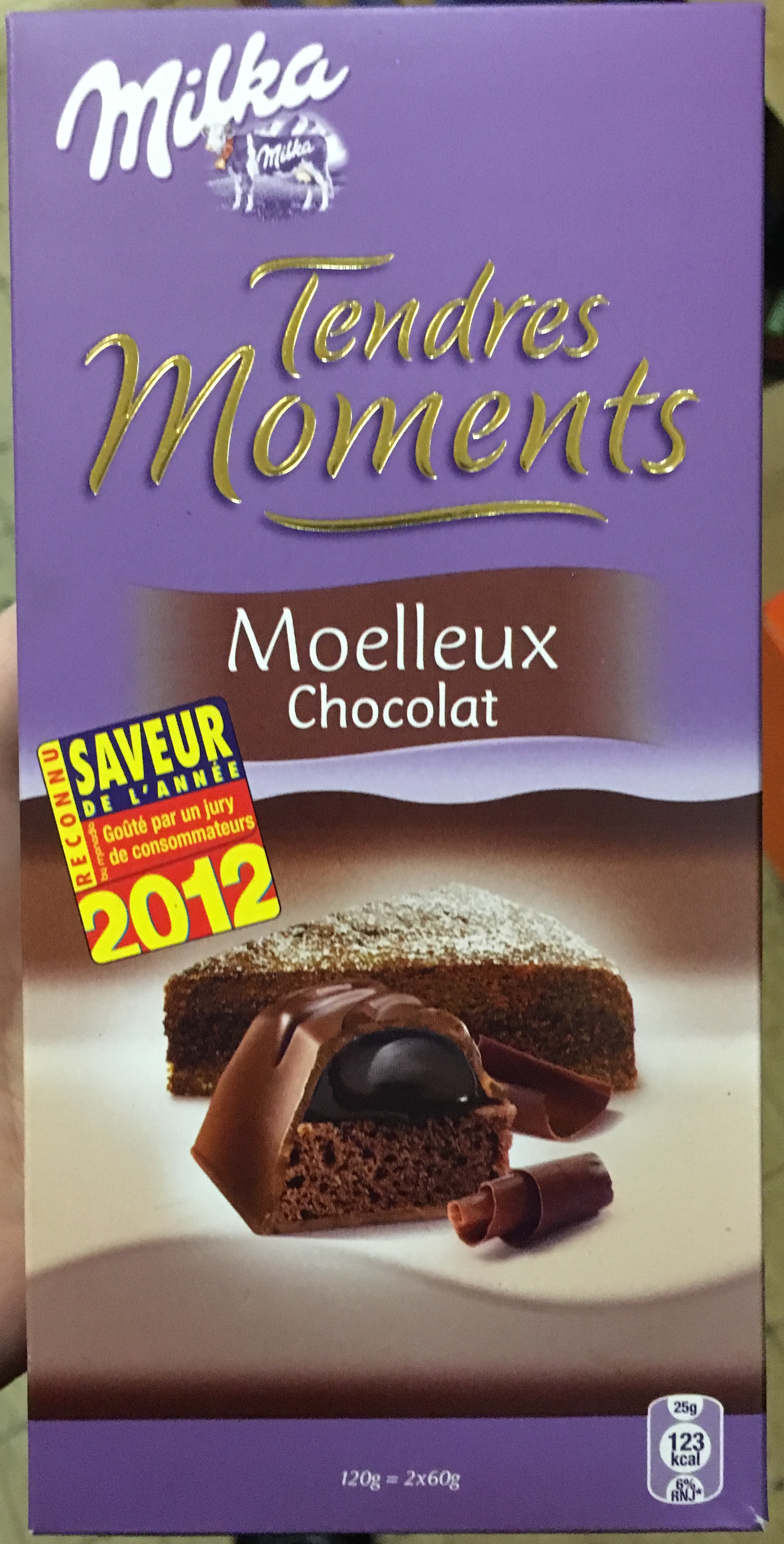 Tendres Moments Moelleux Chocolat - Product - fr