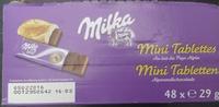 Mini Tablettes Au lait du Pays Alpin - Produit - fr