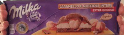 Caramello E Nocciole Intere - Prodotto