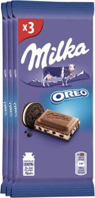 Milka Oreo - Product - fr