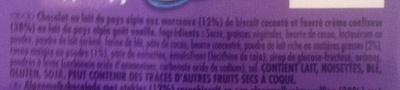 Milka Oréo - Ingrediënten