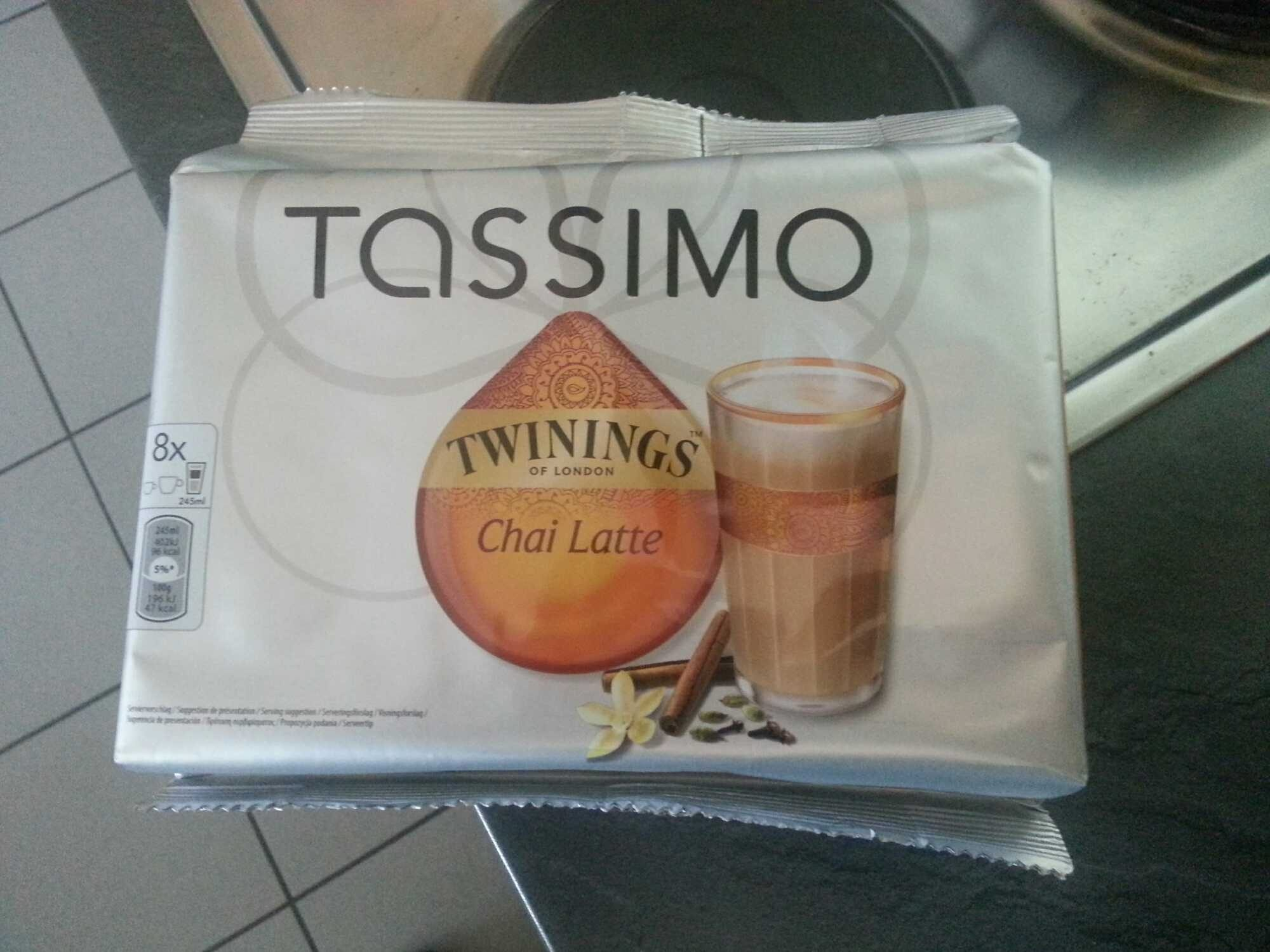 Twinnings Chai Latte - Tassimo - 8