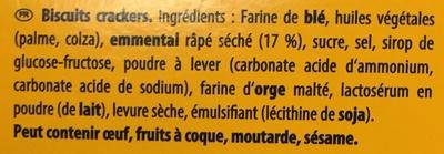 Monaco à l'emmental - Ingredients