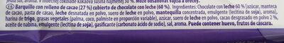 Choco Wafer - Ingredients - es