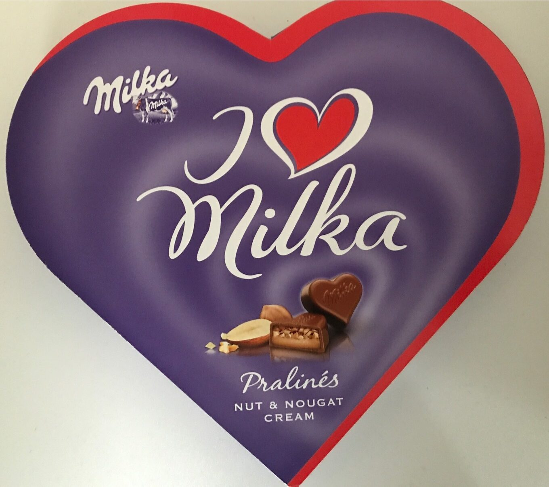 I Love Milka Pralines - Product - fr