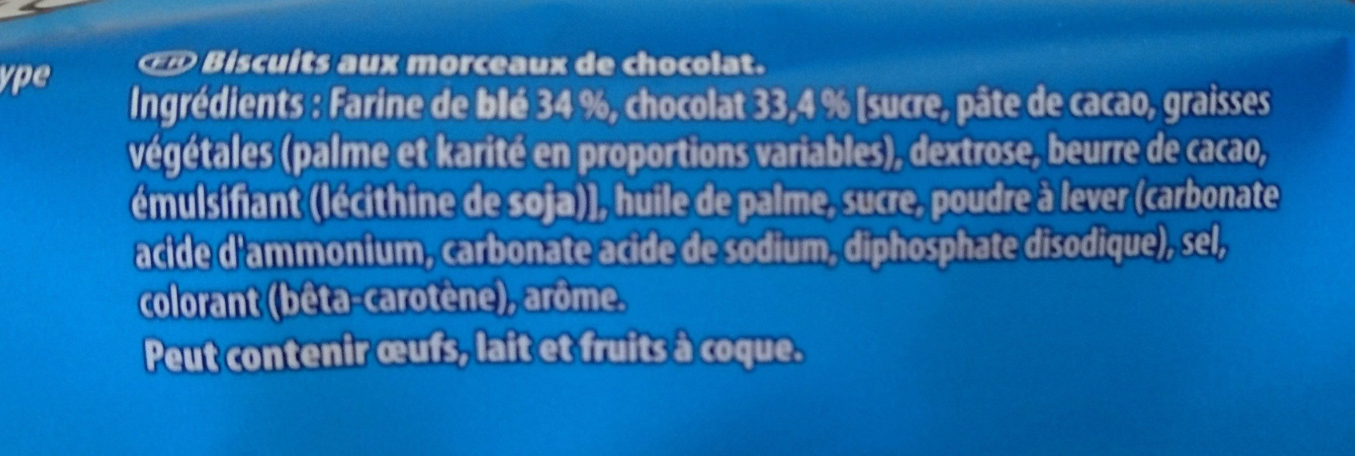 Granola - Ingrédients - fr