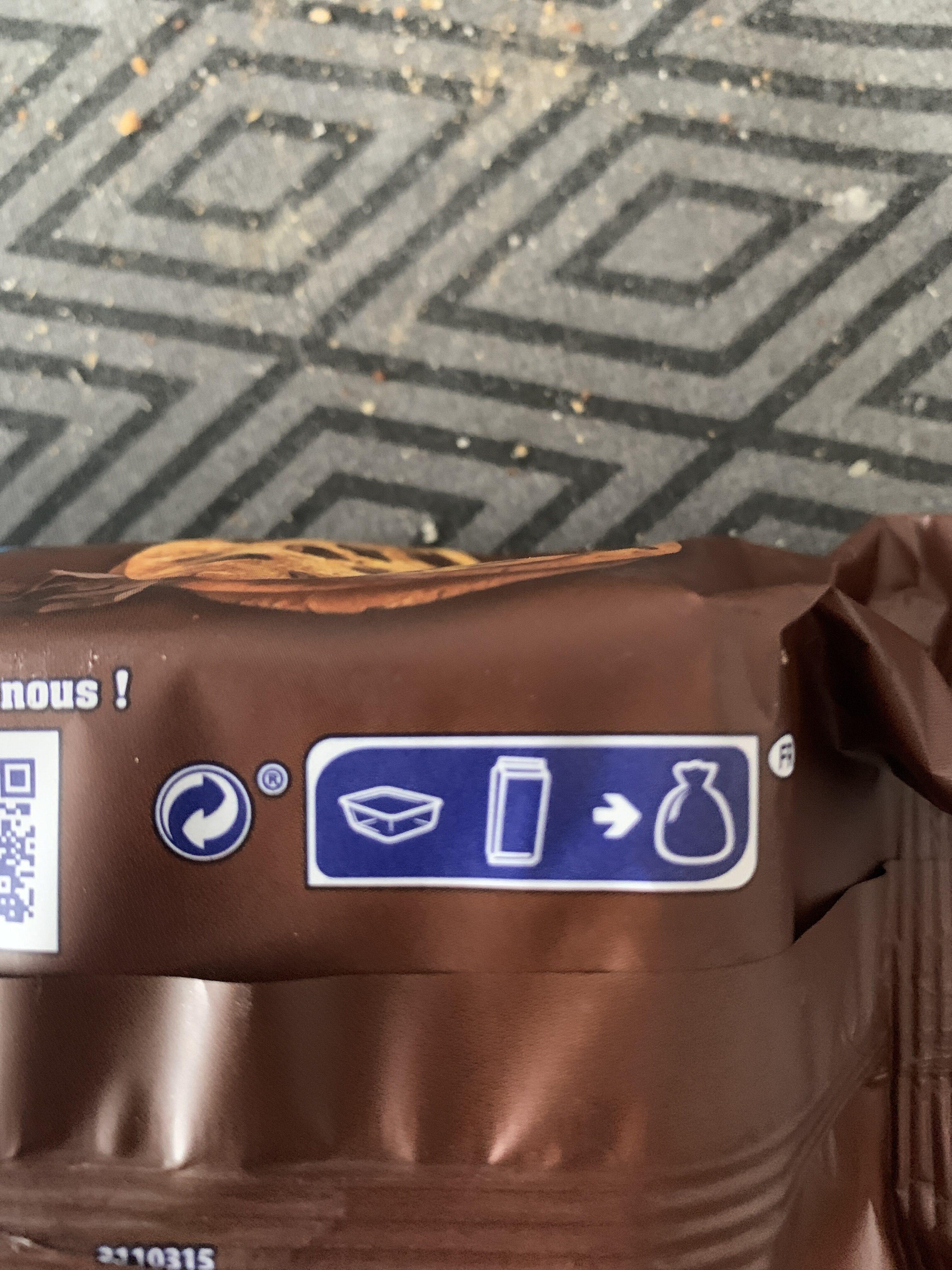 Granola - Instrucciones de reciclaje y/o información de embalaje - en