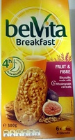 Belvita Breakfast - Fruit & Fibre - Produit