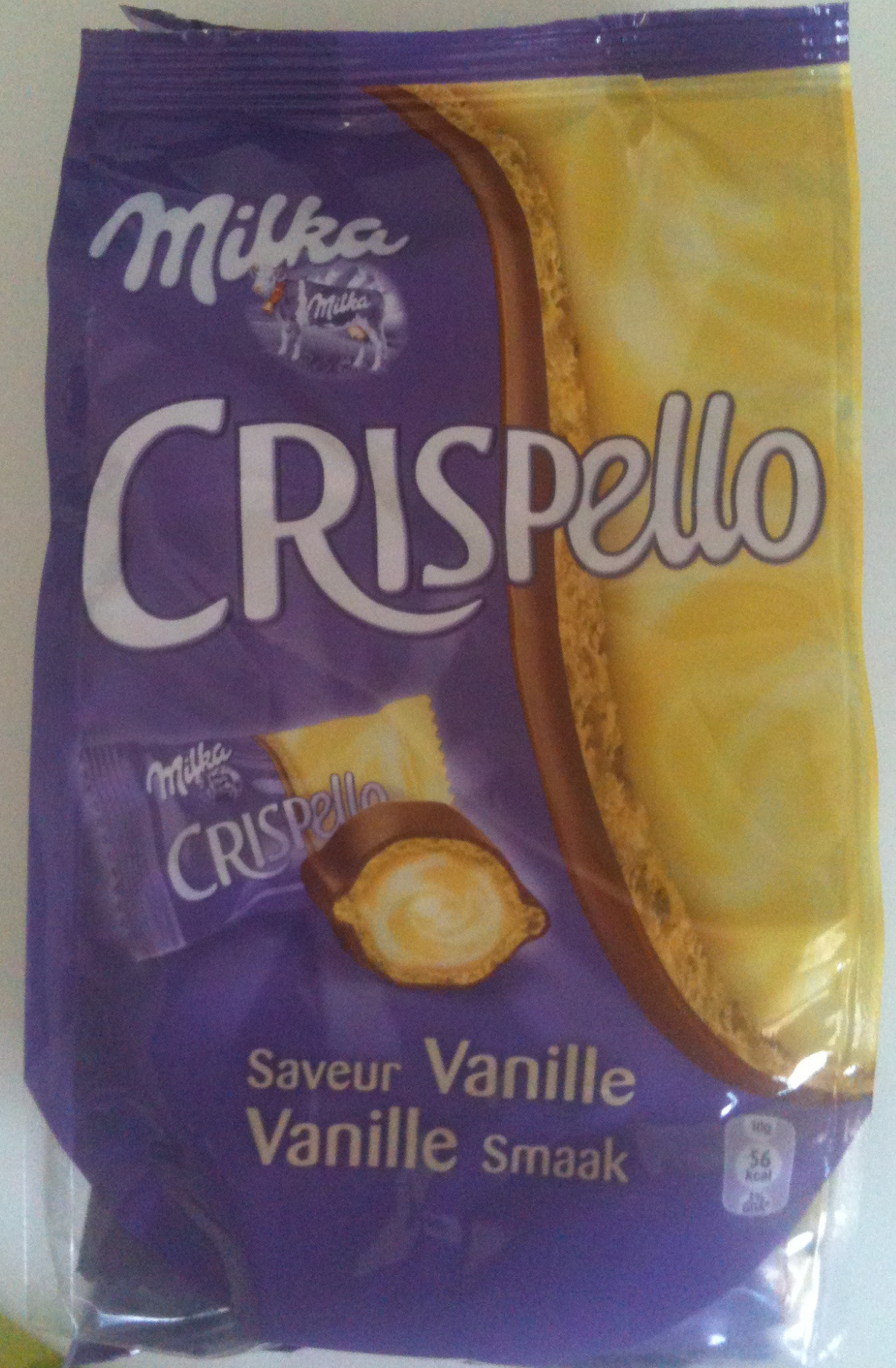 Milka - Crispello - Saveur Vanille - Produit - fr