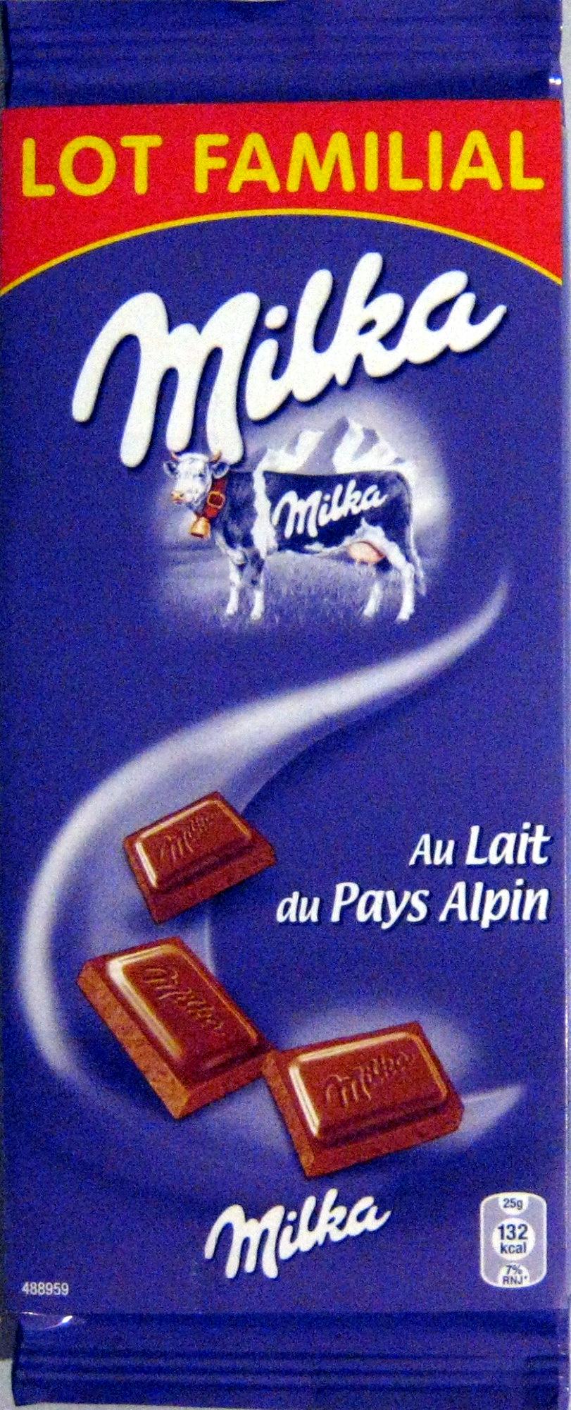 Chocolat au lait du pays alpin (Lot de 6) - Product