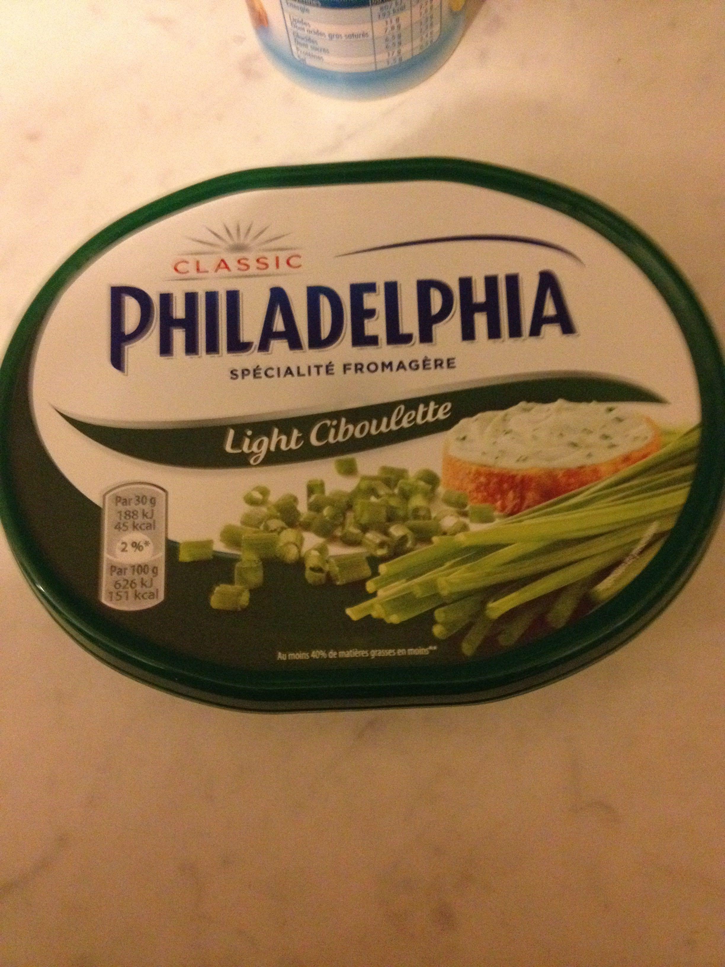 Philadelphia light ciboulette - Produit - fr
