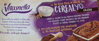 Vitasnella Cereal-yo Cacao, Cacao-keks Mit Jogurtf... - Prodotto - it