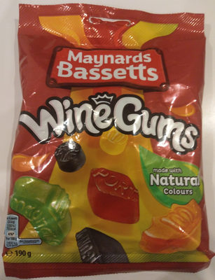 Maynards wine gums candy - Product - en