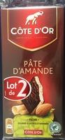 Chocolat Noir Pâte d'Amande - Product - fr