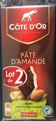 Chocolat Noir Pâte d'Amande - Product