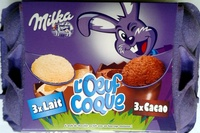 L'Oeuf Coque 3xLait 3xCacao - Product
