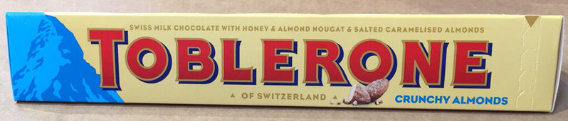 Tobleron crunchy almonds - Product - en