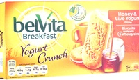 Yogurt Crunch Honey & Live Yogurt - Product - en