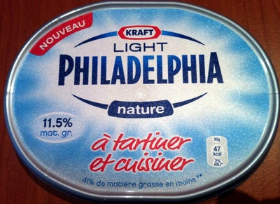 Philadelphia Light Nature (11,5% MG) - 150 g - Kraft - Produit