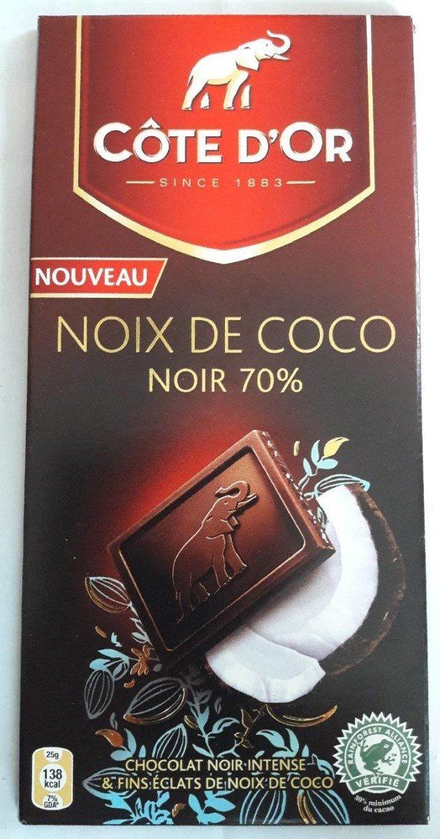 CHOCOLAT - Noix de coco - Noir 70% - Product