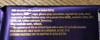Dairy Milk Caramel - Ingredients - en
