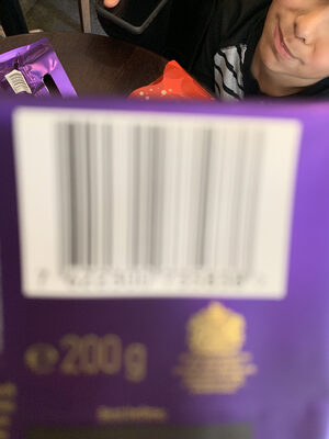 Cadbury dairy milk chocolate bar - Nutrition facts