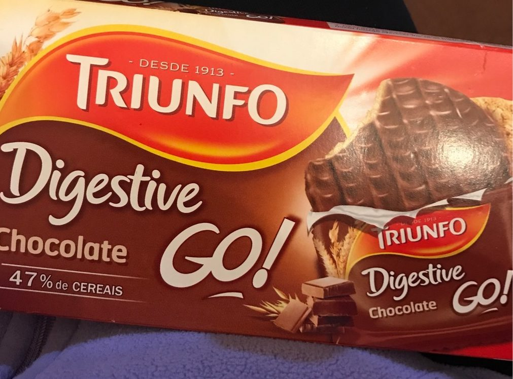 Digestive GO ! Chocolate - Product - pt
