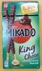 Mikado King Choco Chocolat saveur Praliné - Produit