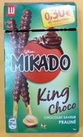 Mikado King Choco Chocolat saveur Praliné -