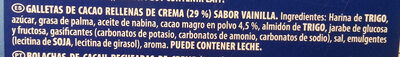 Oreo Original - Ingredientes - es
