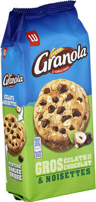 Granola Cookies Chocolat & Noisettes - Product - fr