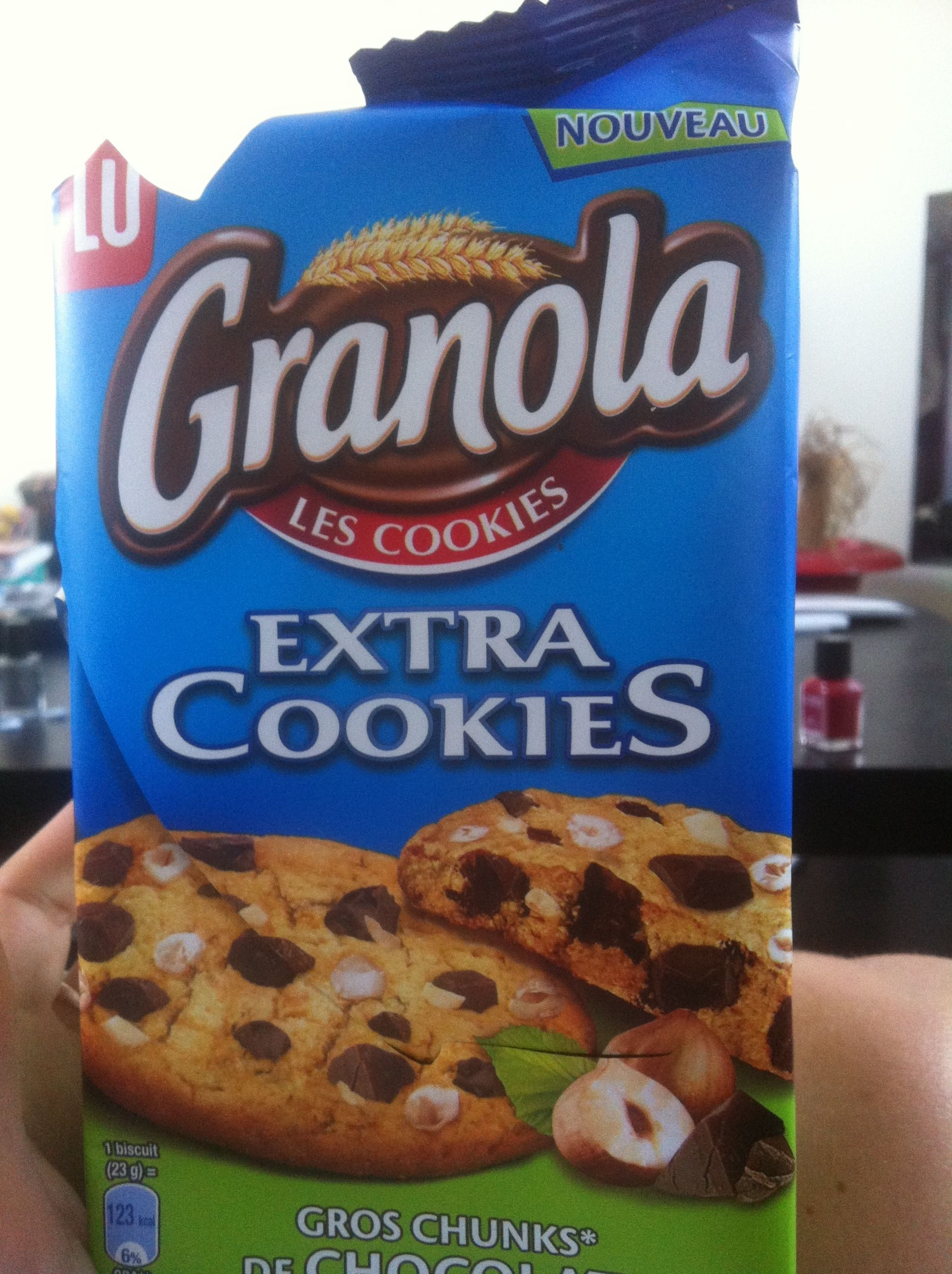 Granola Extra Cookies Chocolat Noisette - Product