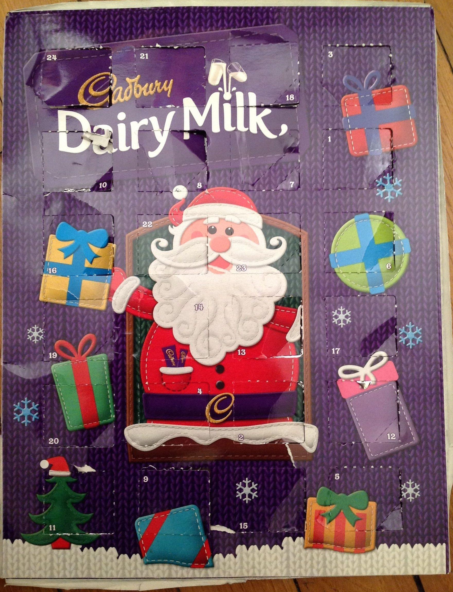 Advent calendar dairy milk - Produit
