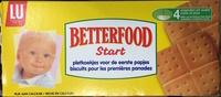 Betterfood Start Biscuit pour les premières panades - Product - fr