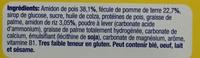 Betterfood Start Biscuit pour les premières panades - Ingredients - fr