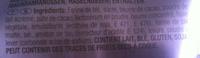 Milka - Brezel Snax - Ingredients - fr