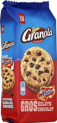 Granola Cookies Chocolat & Daim - Product - fr