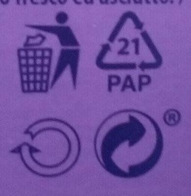 Cake & Choc - Instrucciones de reciclaje y/o información de embalaje - fr