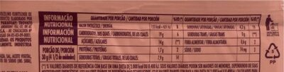 Bis Laka Chocolate - Lacta - Informação nutricional - pt