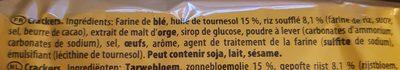 TUC Crispy - Ingrédients - fr
