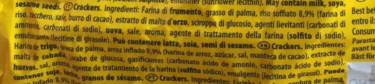 Tuc Crispy - Ingredienti - it