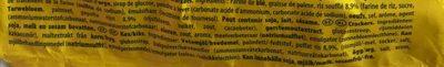 TUC Crispy - Ingrediënten - nl