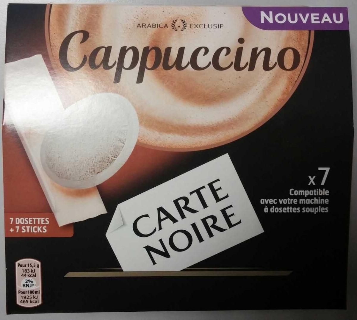 cappuccino carte noire 108 5 g. Black Bedroom Furniture Sets. Home Design Ideas