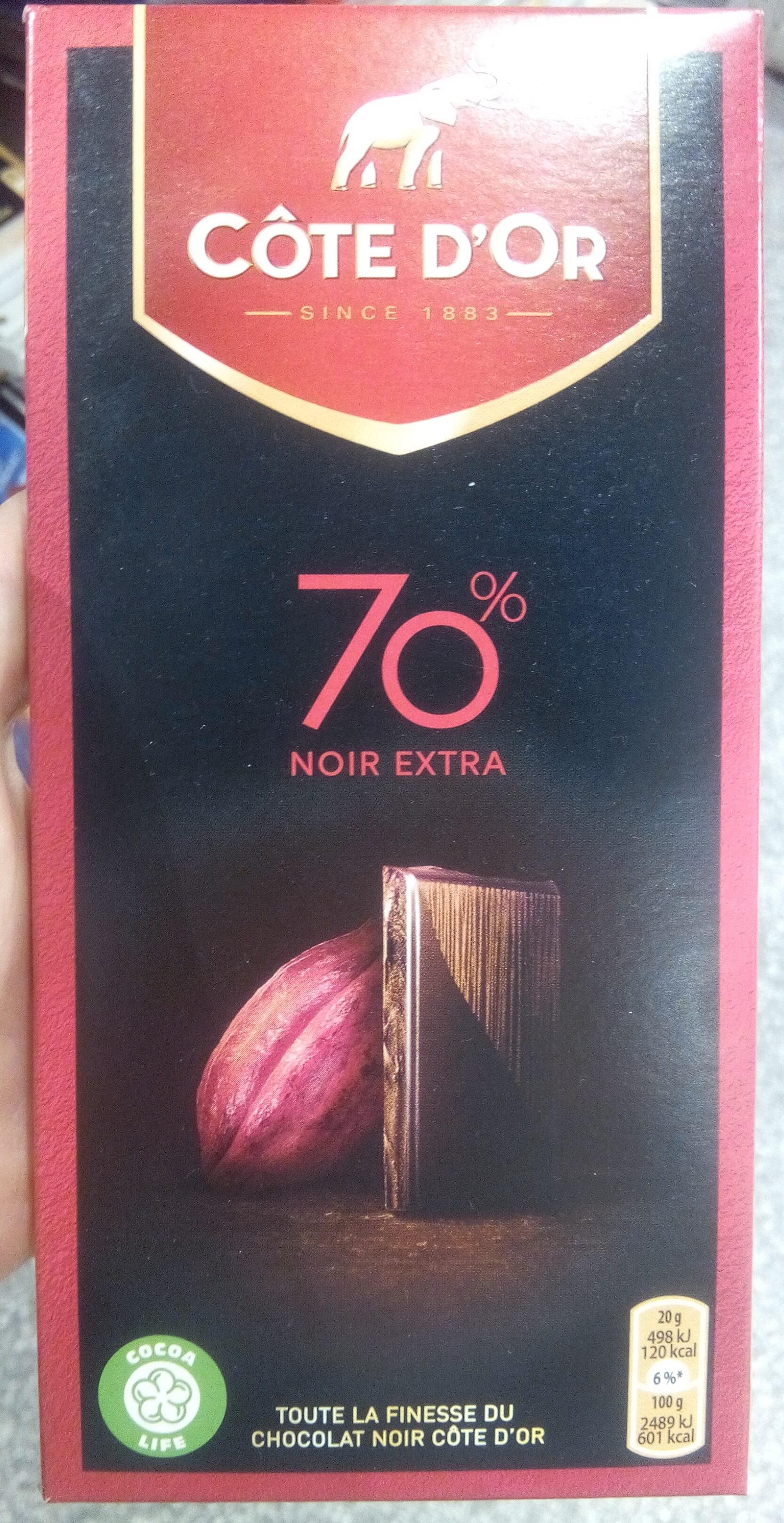 70% noir intense Fin - Product