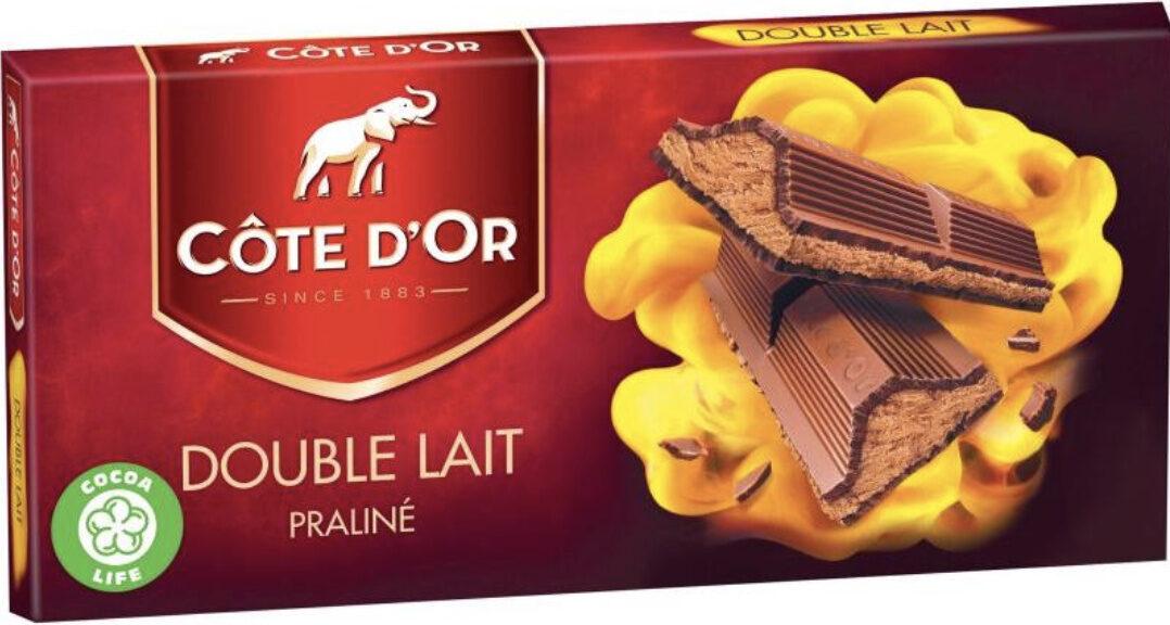 Double lait praliné - Produit - fr